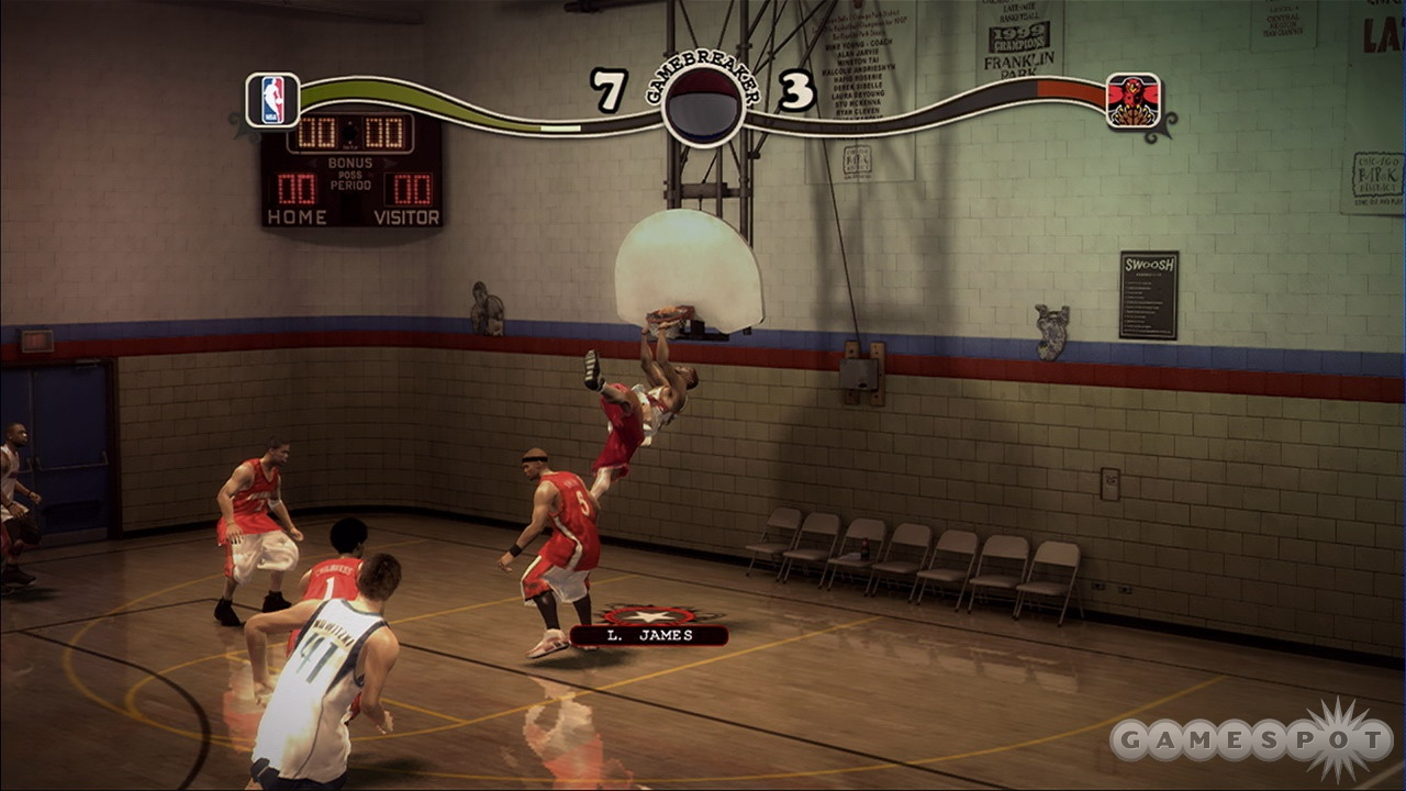 NBA Street Homecourt marks the debut of the series on the PlayStation 3 and Xbox 360.