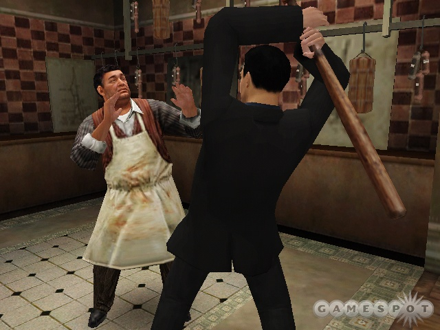 The combat is much more hands-on in Blackhand Edition, requiring you to actually throw punches and shake down thugs as if you were a real-life mobster.