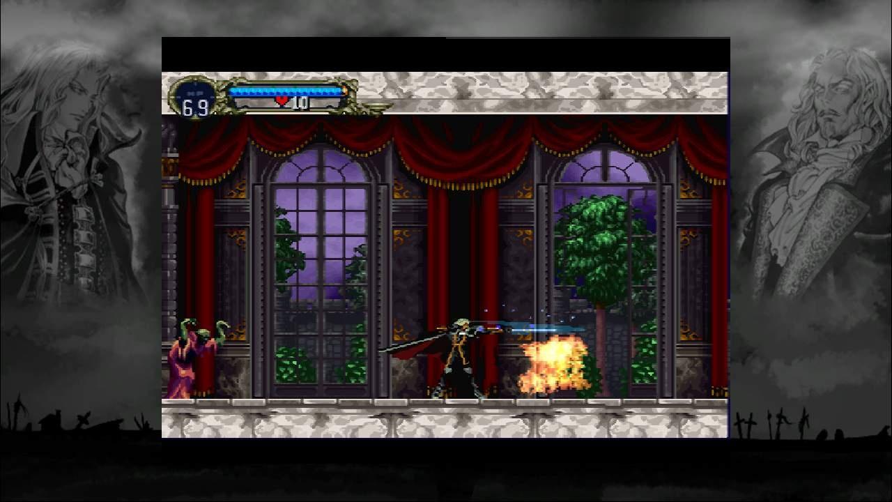 Alucard's unique abilities help you get through the castle's various obstacles.