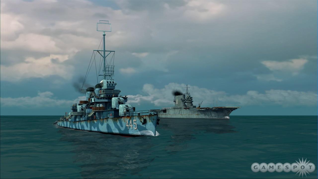 ...man the helm of a massive battleship...