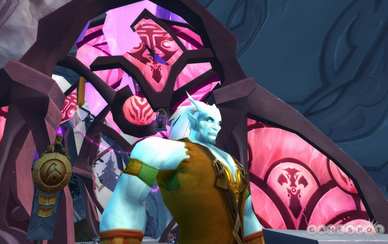 In the draenei the Alliance finally has a race that measures up to the Horde's tauren.
