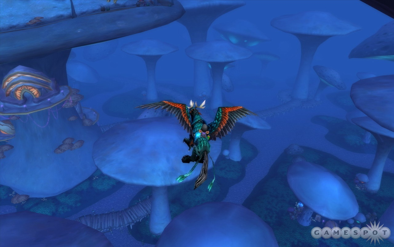 The new environments are undoubtedly among the most breathtaking that World of Warcraft has to offer.