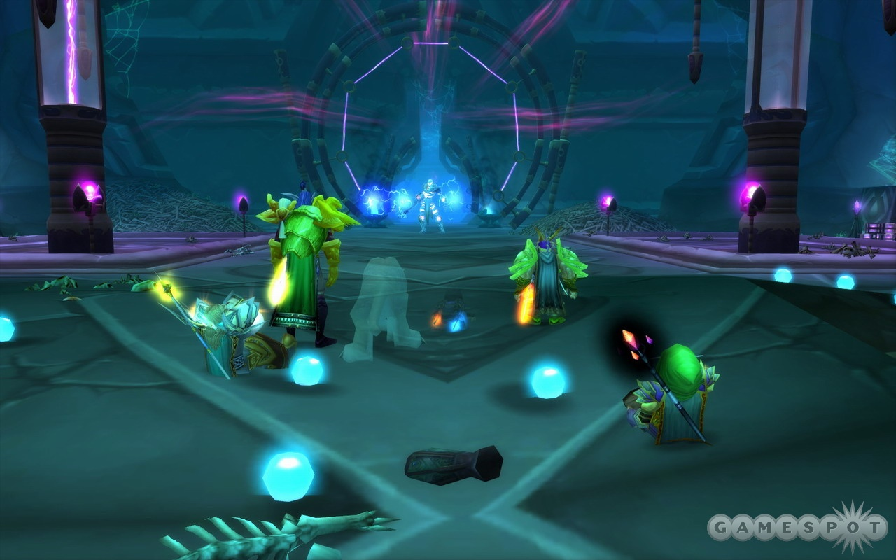 Many of the new dungeons are designed for groups of five players.