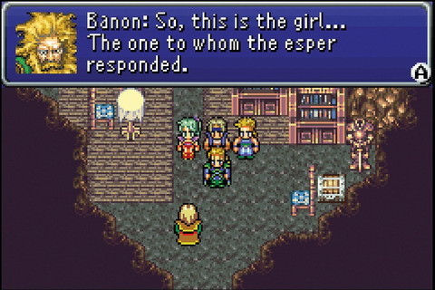Instead of focusing on a strong central character, Final Fantasy VI features a large ensemble cast.