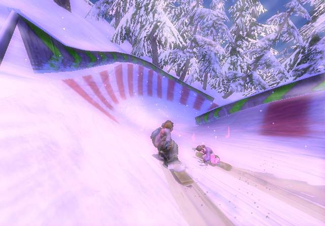Race events in Blur are no-frills, suicide dives to the bottom of the hill.