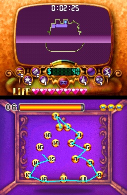 You'll play through a quick minigame of one sort or another every time you try to open a treasure chest.