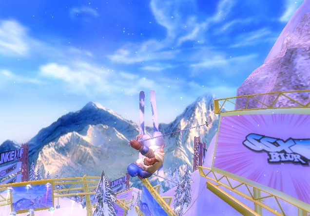 Forget the poles and skis. All you need to hit the slopes in SSX Blur is your Wii Remote and Nunchuk.