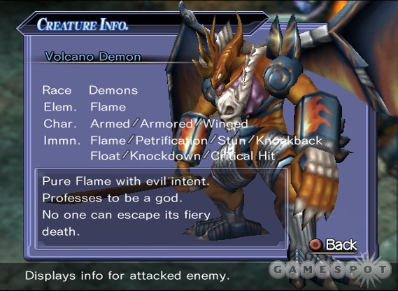 Some of the enemies in the game are massive and imposing.
