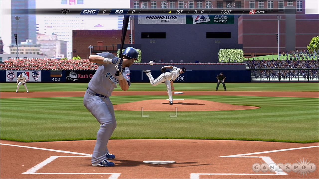 The swing mechanics work fine, but it's really difficult to judge pitches.