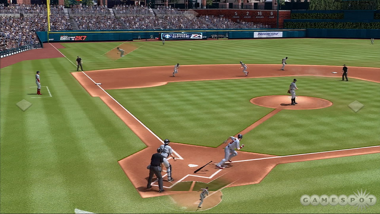You'll still have some mishaps, but fielding is much-improved.