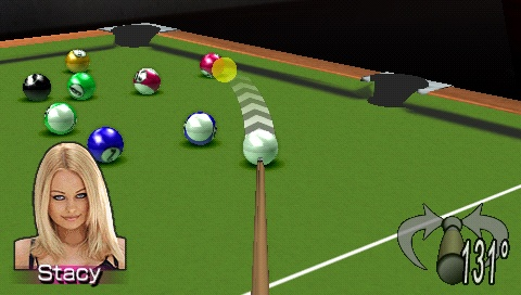 If you're the sort of person who actually giggled when you read the title of Pocket Pool, maybe this is the game for you.