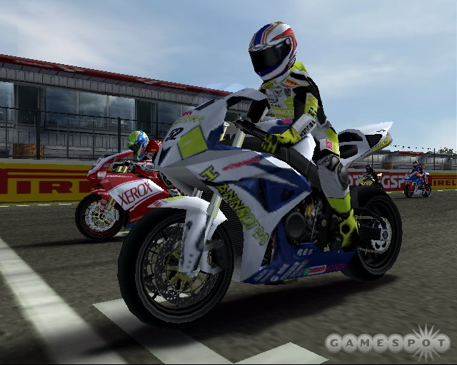 SBK'07 offers both a highly accessible arcade game and a realistic simulation in one package.