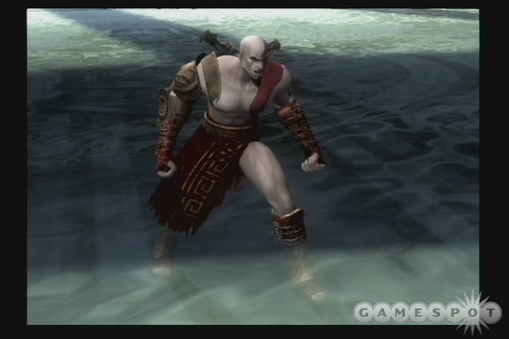 Kratos is back, and he wants to stab something.