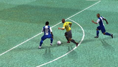 On the pitch, UEFA looks a lot like FIFA.