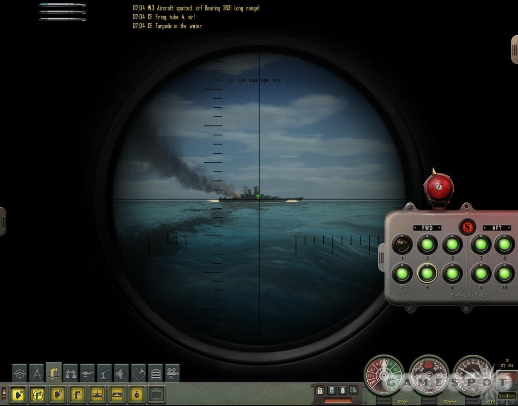 According to submariners, there are only two types of vessels: submarines and targets.