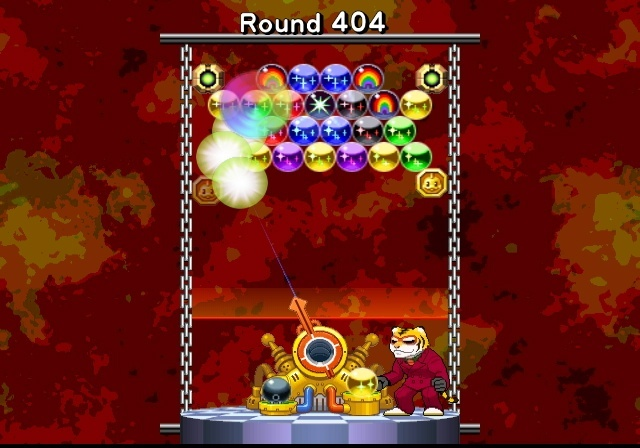 Crummy, gimmicky controls define the tone in Bust-A-Move Bash!.