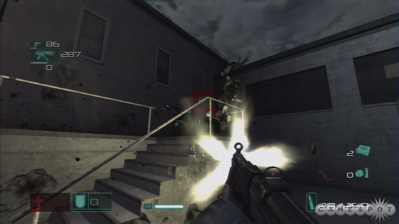 The enemies in F.E.A.R. are smart and mobile and will give you fits.