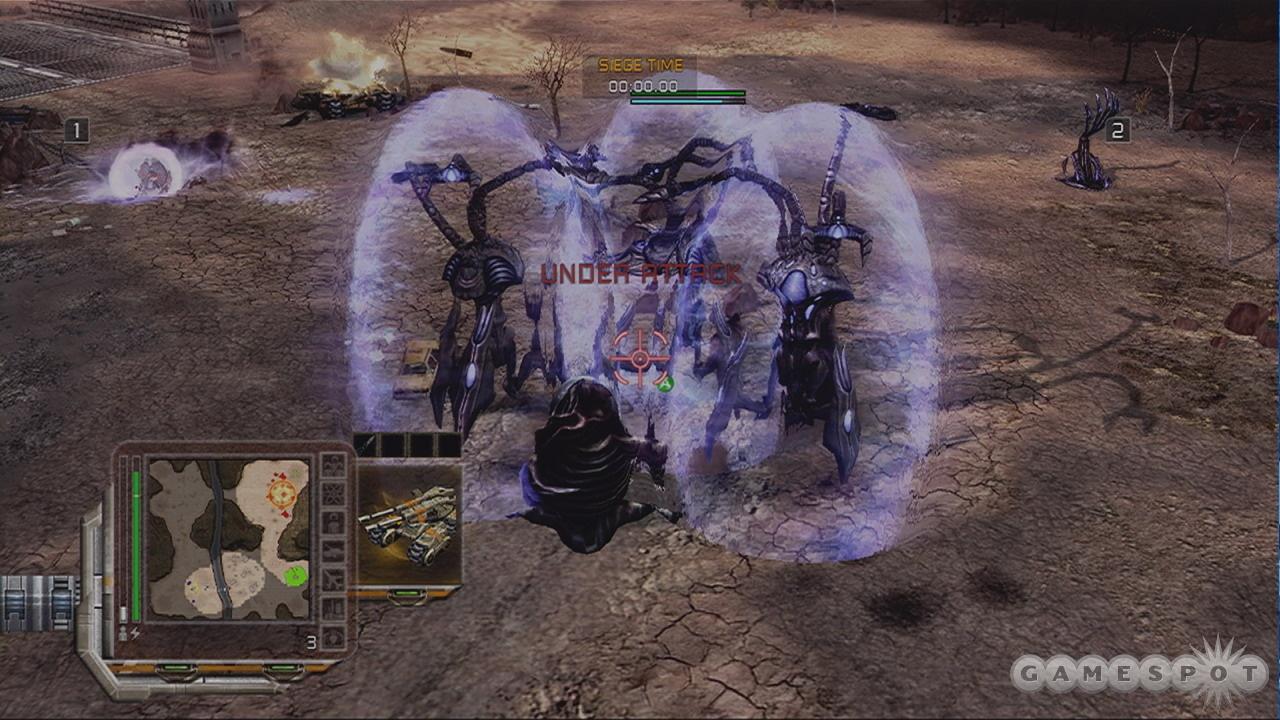 Scrin annihilator tripods look imposing.