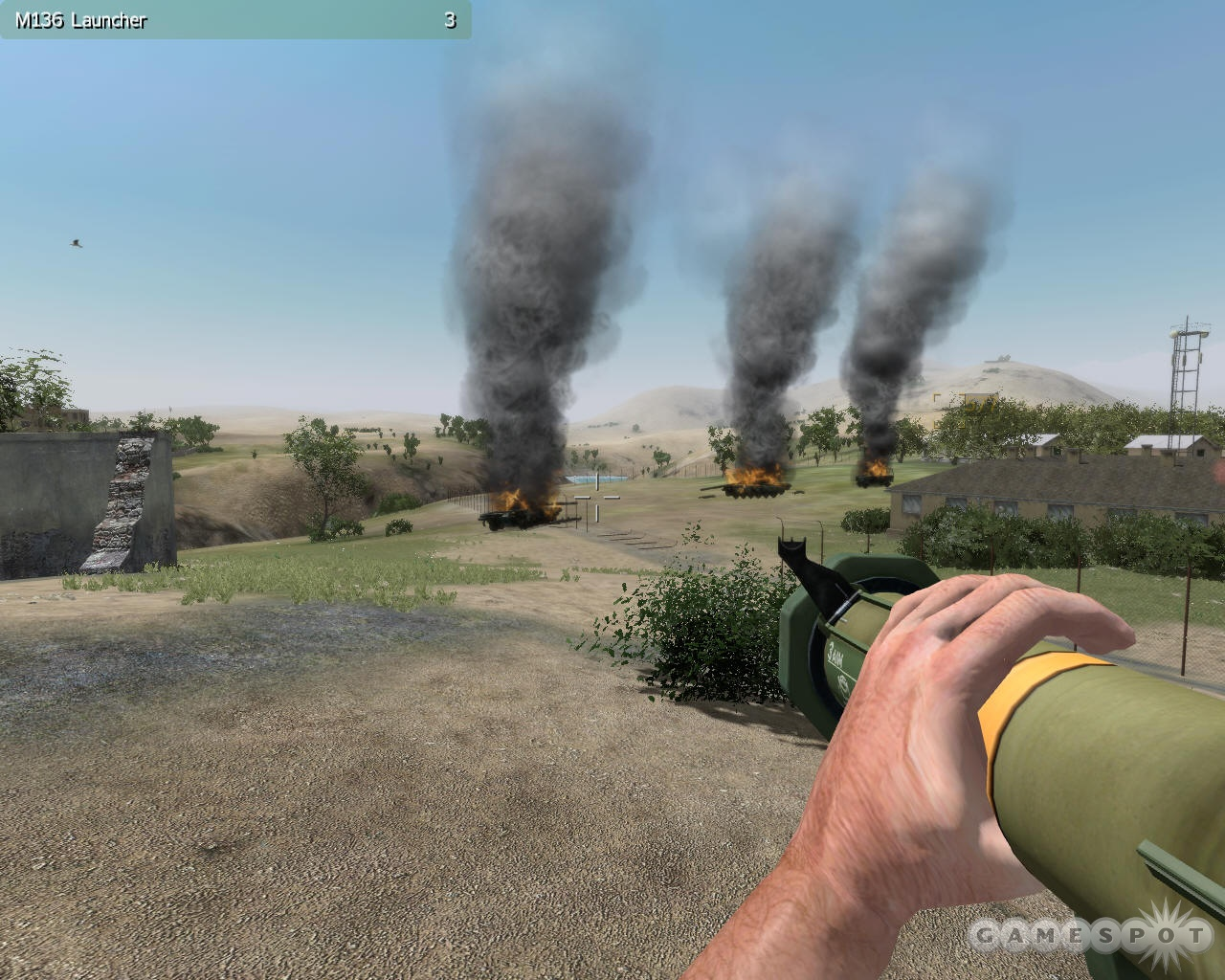 ArmA is not as much a first-person shooter as it is a first-person simulator of military operations.