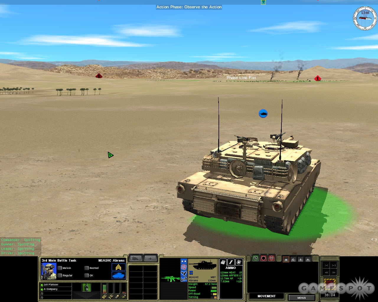 Modern tanks can hit and kill from up to a mile away, and deserts offer no place to hide.