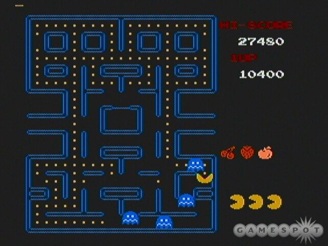 The colors are dull, but in all other regards, the NES version of Pac-Man is true to the original arcade game.