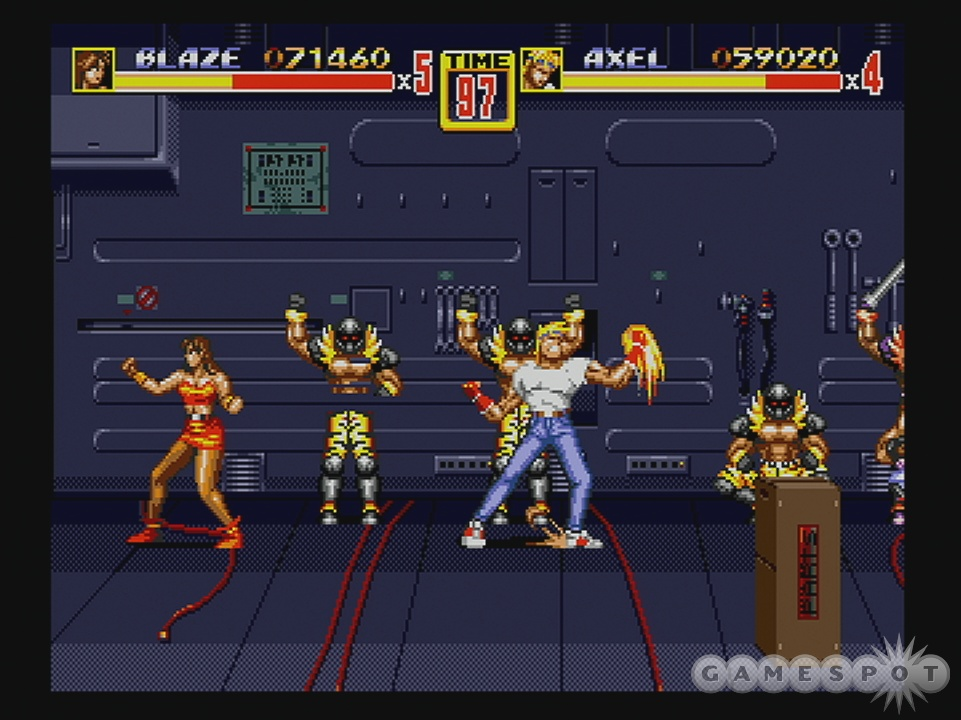 Streets of Rage 2 is one of the best beat-'em-ups money can buy.