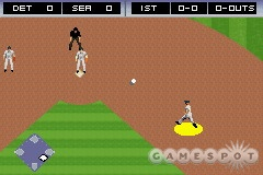 Fielders move like they're swimming in glue.