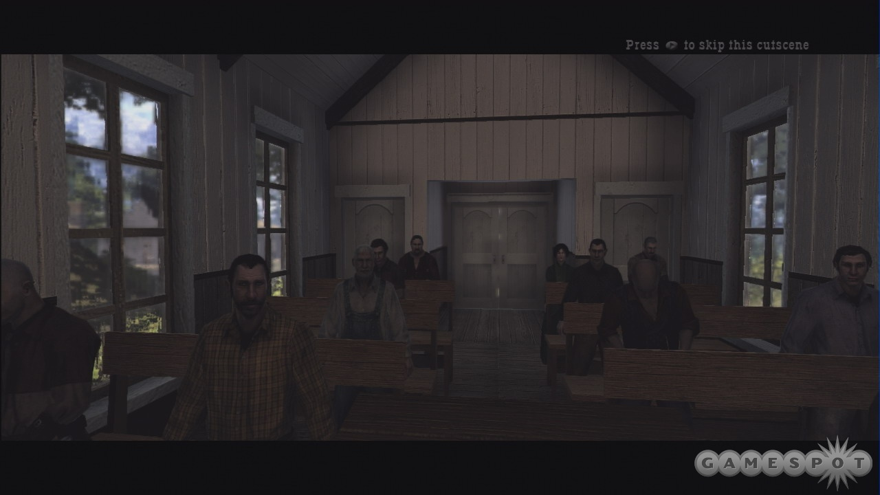 Never has a game so realistically rendered a Sunday sermon as Call of Juarez does.