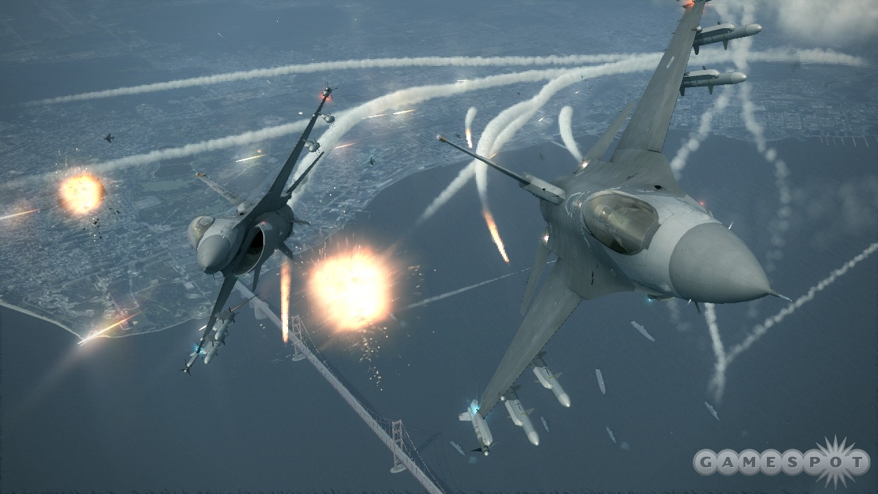 With stunning visuals and intense action, Ace Combat 6 is looking good.