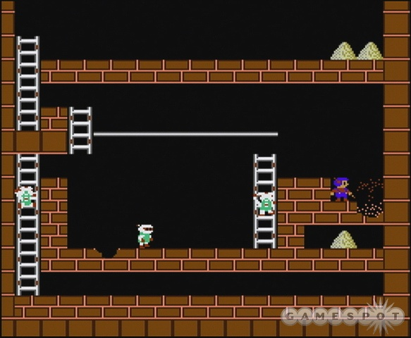 Get the lodes and run with them. Such is the life of a…Lode Runner.