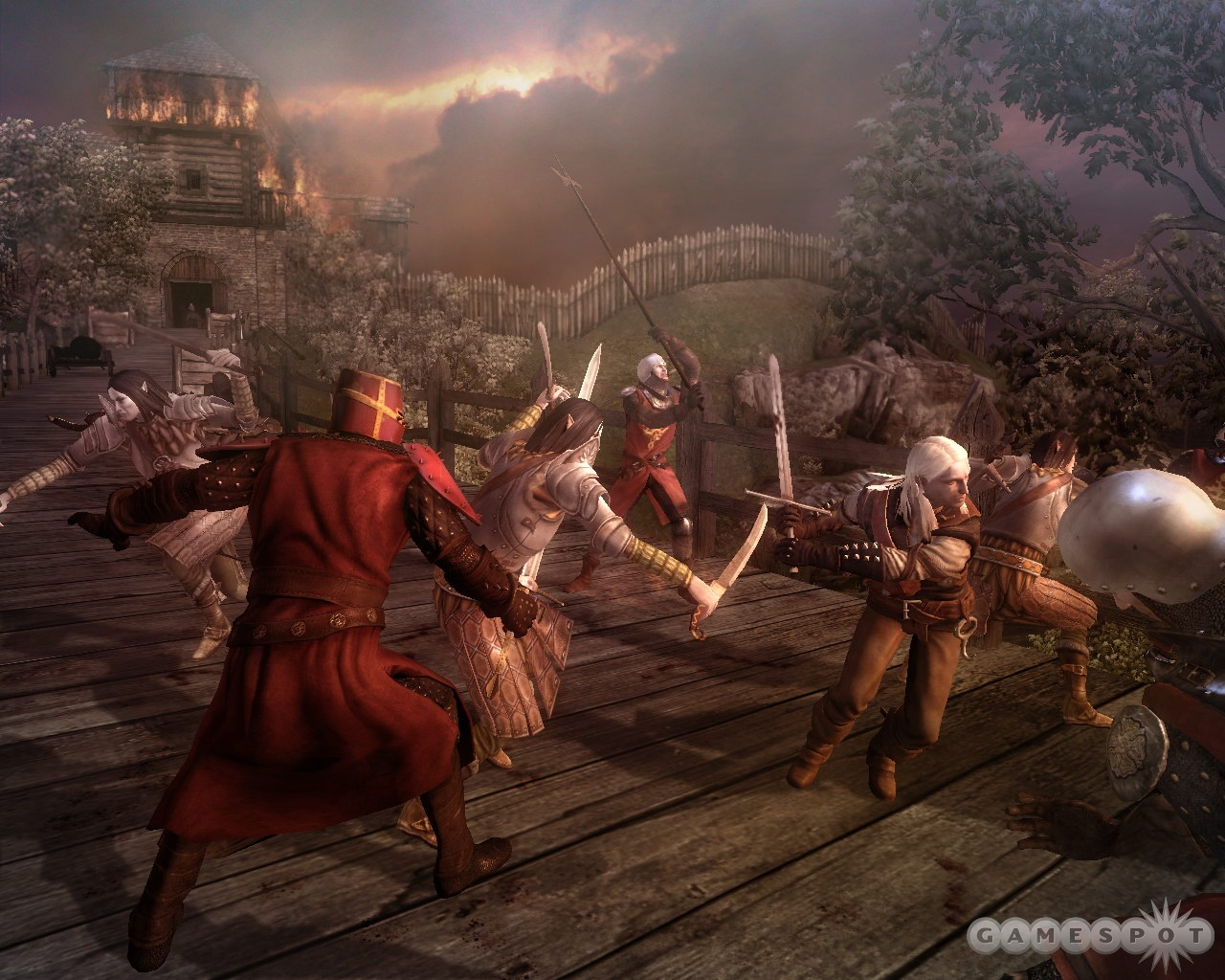 The combat system will require some practice, as it tries to capture the rhythm of sword fighting.
