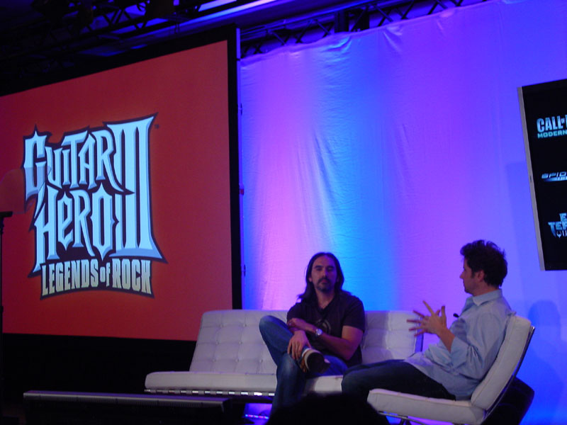 Allan Flores from Neversoft takes the couch with Kennedy and chats Guitar Hero III.