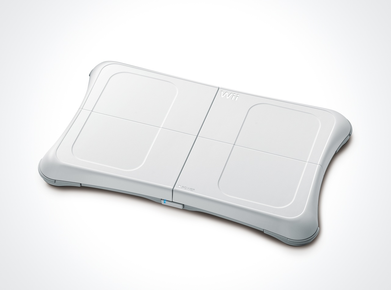 The Wii balance board is a nifty and sensitive peripheral.