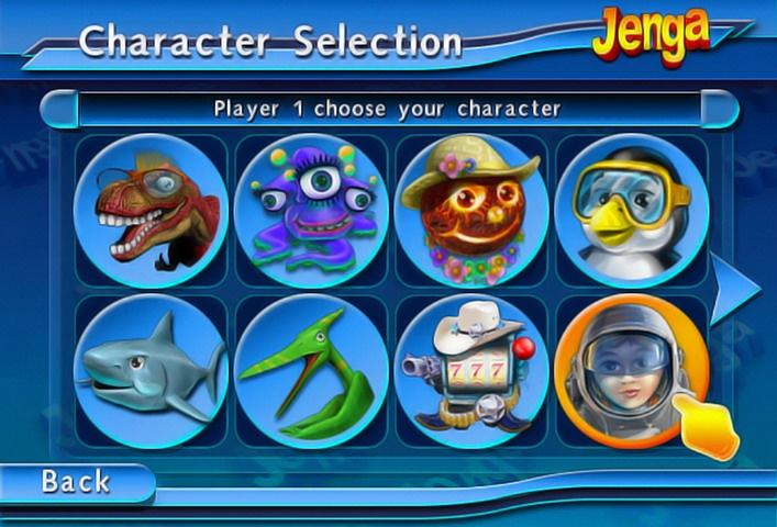 Even sharks and anthropomorphic slot machines can enjoy Jenga...