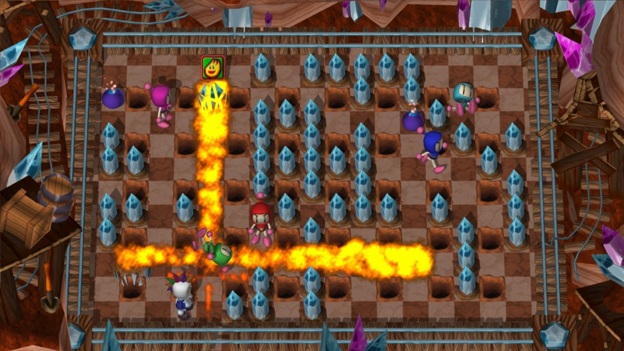 There are no friends in Bomberman Live, only enemies in disguise.