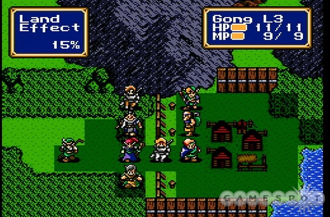 Recruiting and training up your bizarre cast of allies is the heart and soul of Shining Force.