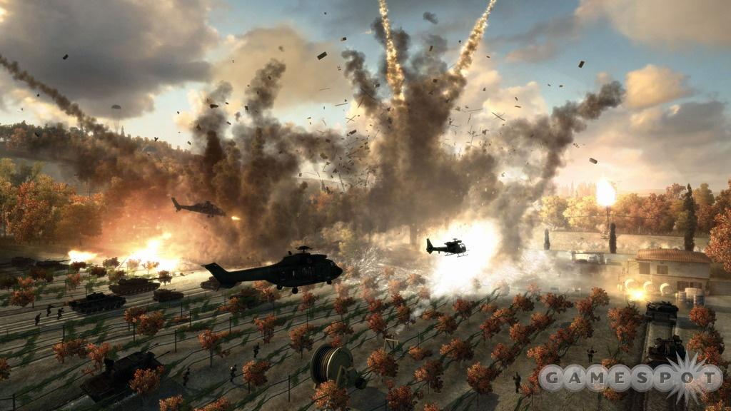 World War III unfolds on your screen in World in Conflict.