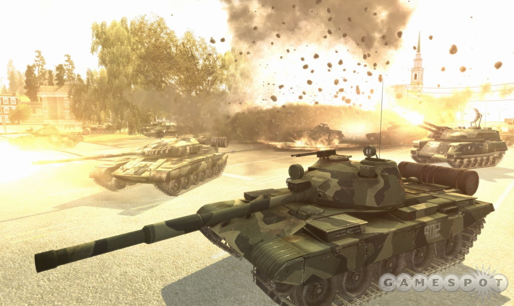 World in Conflict is gearing up to hit shelves this September.