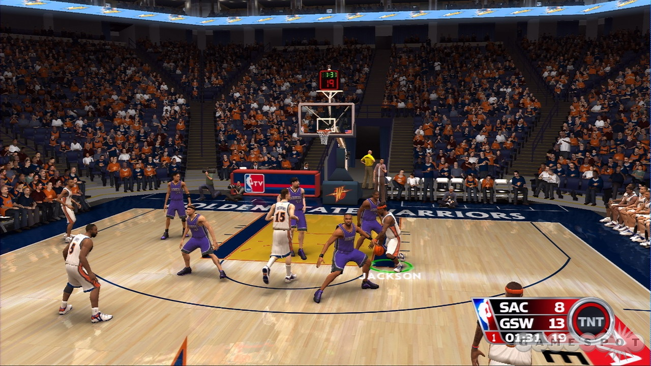 NBA 08's key control feature will give you some extra control over the plays you call on the floor.