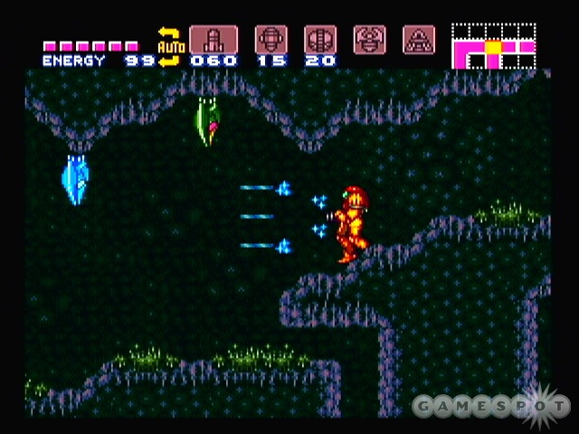 You can expect to spend lots of enjoyable hours blasting aliens on the planet Zebes.