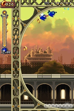 Sonic and his pals return to the Nintendo DS in Sonic Rush Adventure.