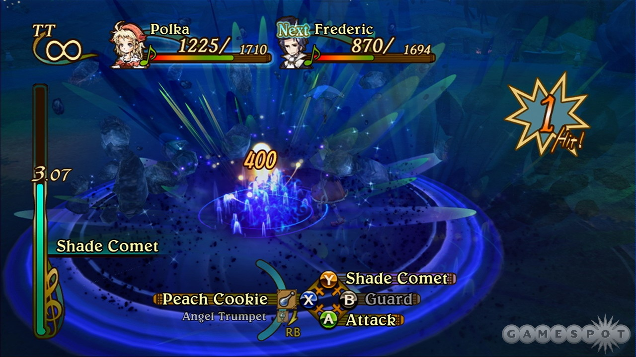 The battle system seems simple at first, but it gets more complex and thrilling as your party levels up.