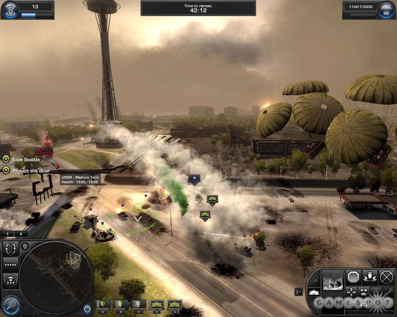 World in Conflict brings World War III to life on your desktop.