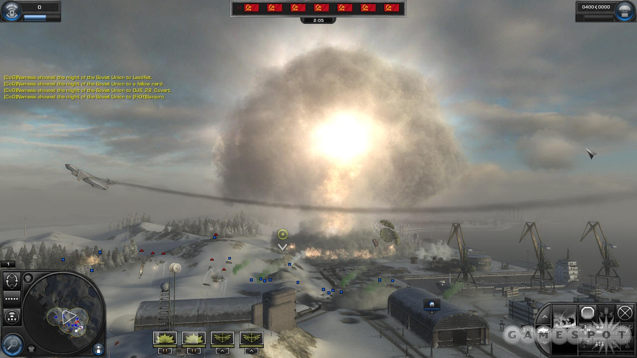 Dropping a tactical nuclear weapon is worth it just for the blinding flash of light and the mushroom cloud.