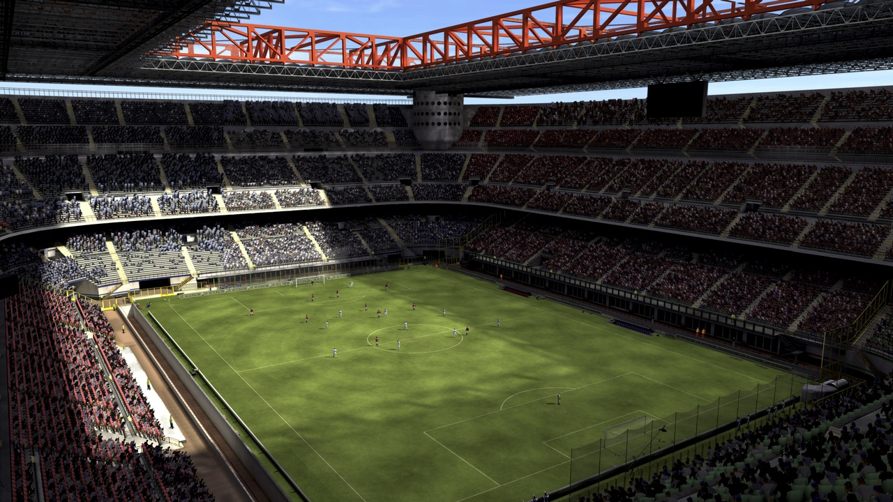 The 30 stadiums boast both scale and detail, with nice touches such as giant screens showing off replays of the action.