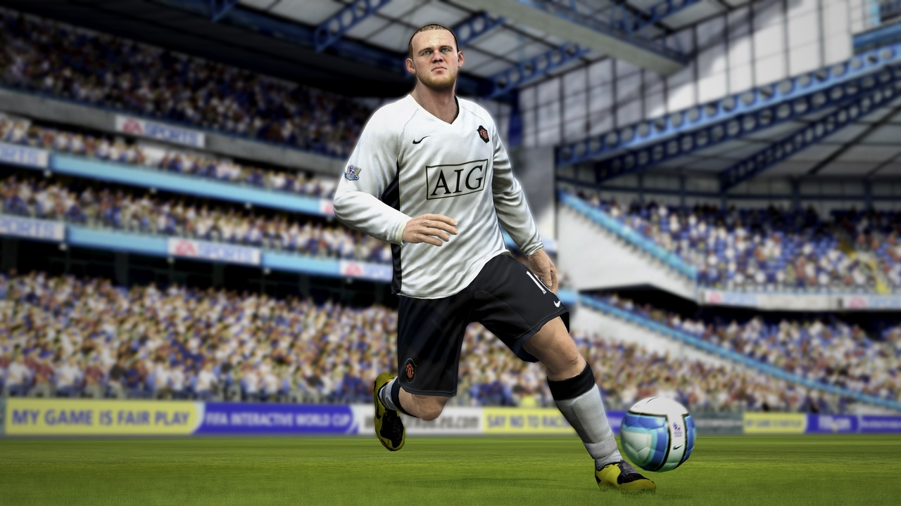 The skill system means that controlling star players such as Rooney is a real joy.