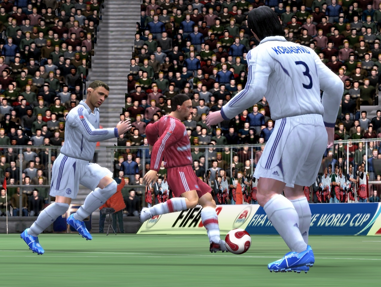 One change to the control system is that you can now flick between defenders with the right analogue stick.
