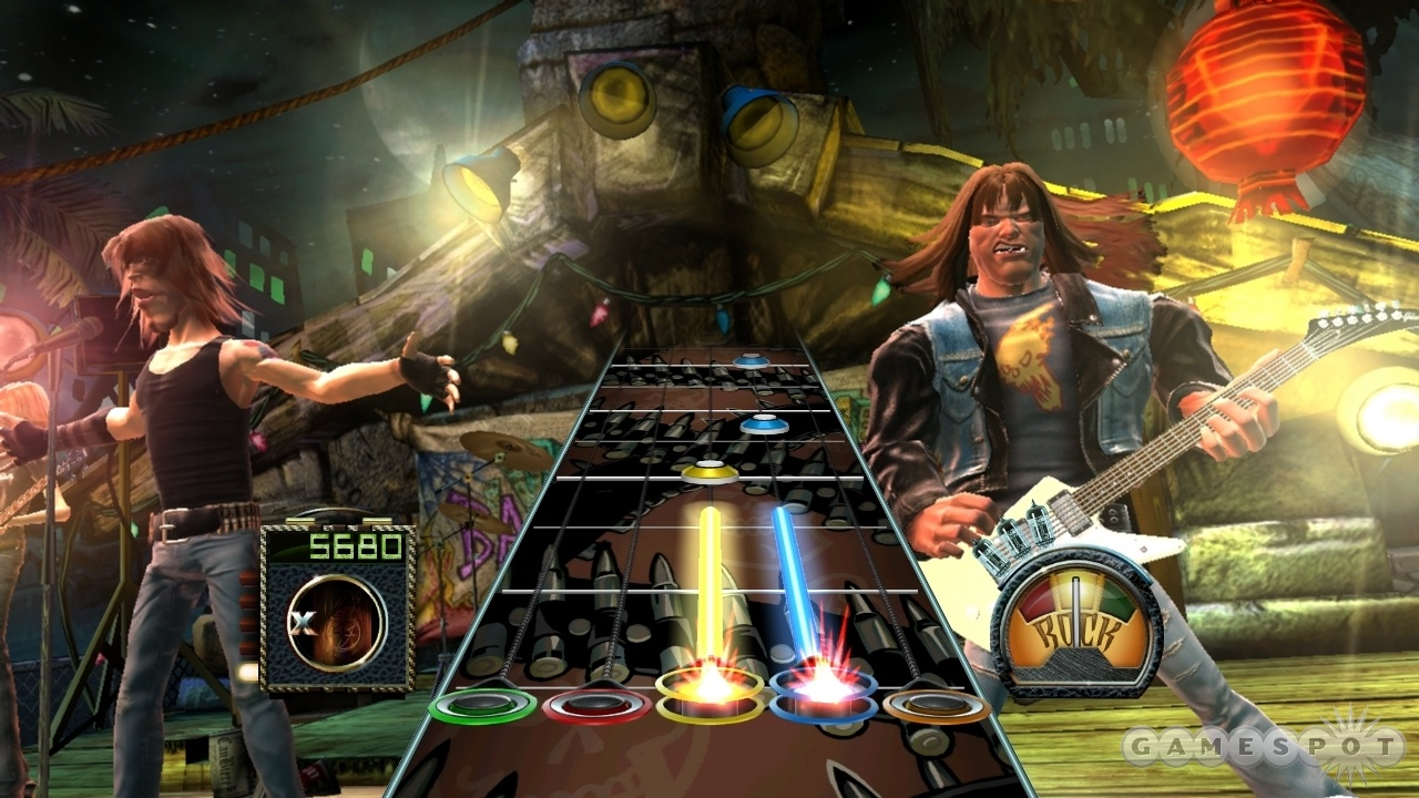 The PC version of Guitar Hero III will support keyboard-and-mouse controls.