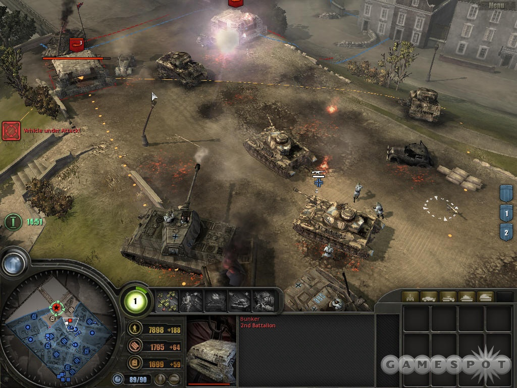 The Panzer Elite can hit hard and hit fast, and they're great if you like to go on offense all of the time.