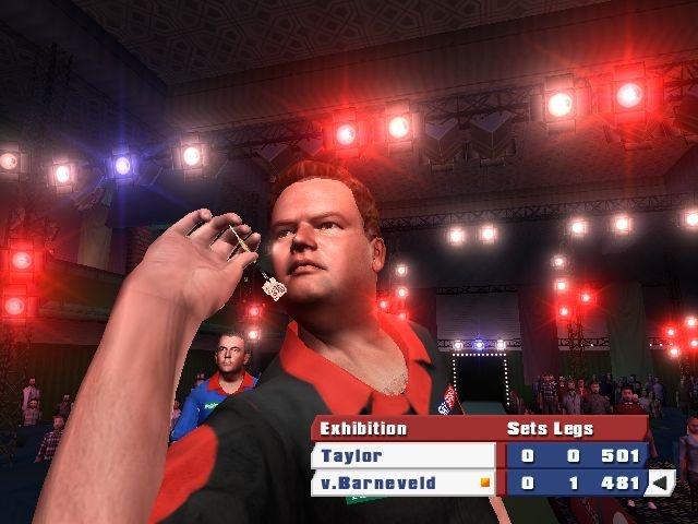 PDC 2008 offers 16 professional darts players, including Raymond van Barneveld.